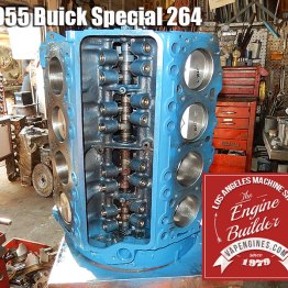 55 buick special 264 short block assembly