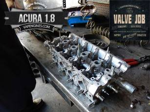 Acura Integra 1.8 cylinder head repair