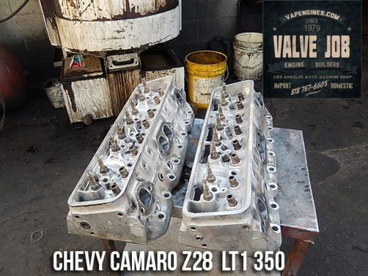 Camaro Z28 LT1 350 5.7 cylinder heads