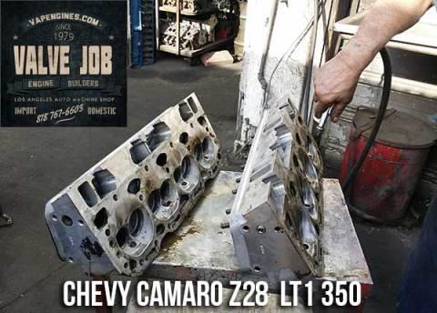 Chevy camaro z28 cylinder heads