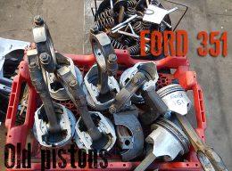 old ford 351 pistons