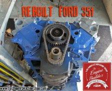 reman ford 351W engine