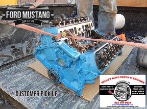 Ford Mustang 289 47 V8 Remanufactured Engine  Los