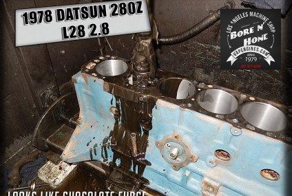 78 Datsun 280Z 2.8 remanufactured short block