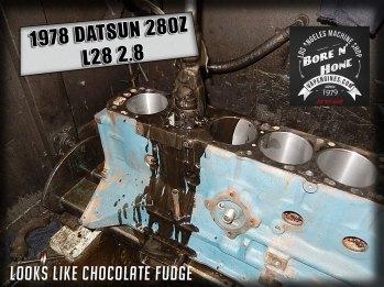 Hone 78 datsun 280z 2.8 engine cylinders