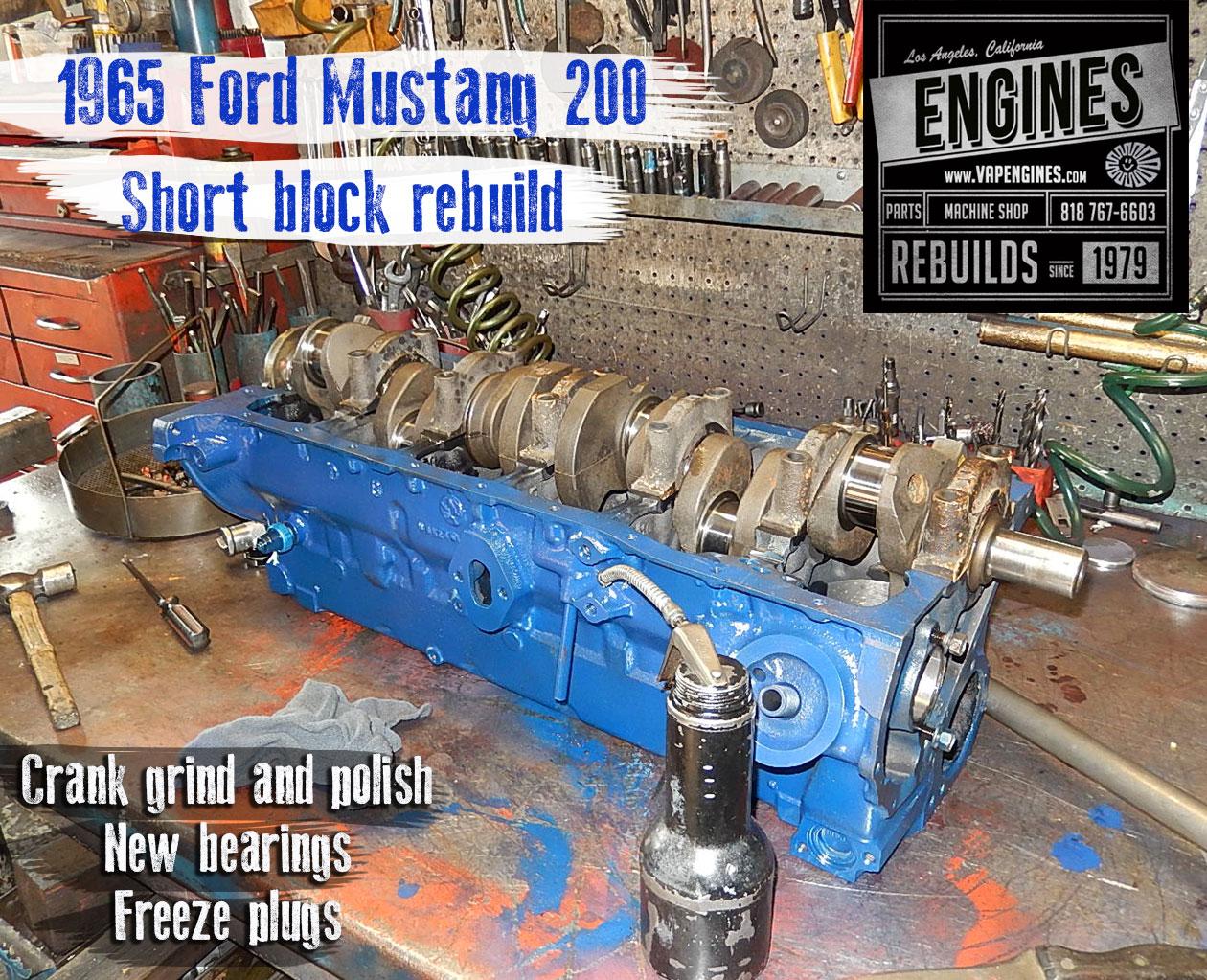 Ford I Short Block Rebuild
