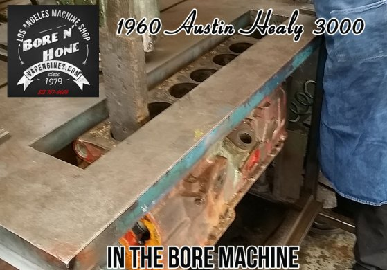 Bore Austin Healy 3000 cylinders