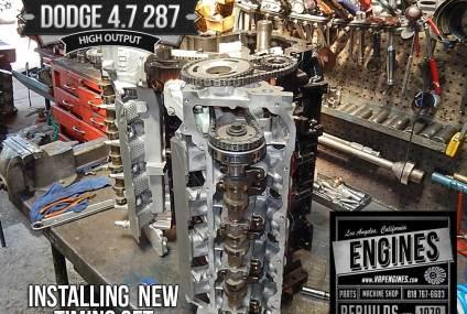 Dodge 4.7 High Output remanufactured engine