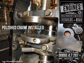 Dodge 4.7 polished crank