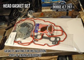 Dodge 4.7 head gasket set