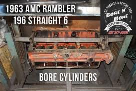 3.2 AMC Rambler 196 engine block bore
