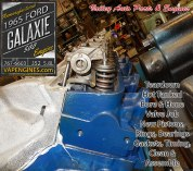 Long Block Engine rebuild Ford Galaxie 352 5.8 engine