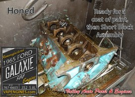 Hone engine block 65 Ford Galaxie 5.8 352