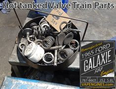 Valvetrain parts basket