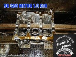 Hone Geo Metro engine block