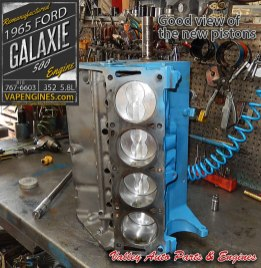Short block rebuild Ford Galaxie 500 5.8