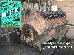 1963 Ford Thunderbird Engine