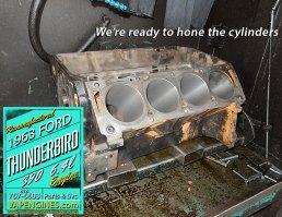 Hone Ford thunderbird 390 block