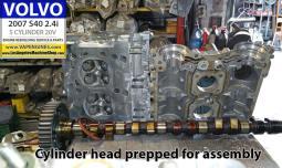 Cylinder head volvo s40