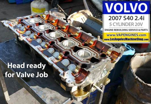 Volvo S40 head before rebuild