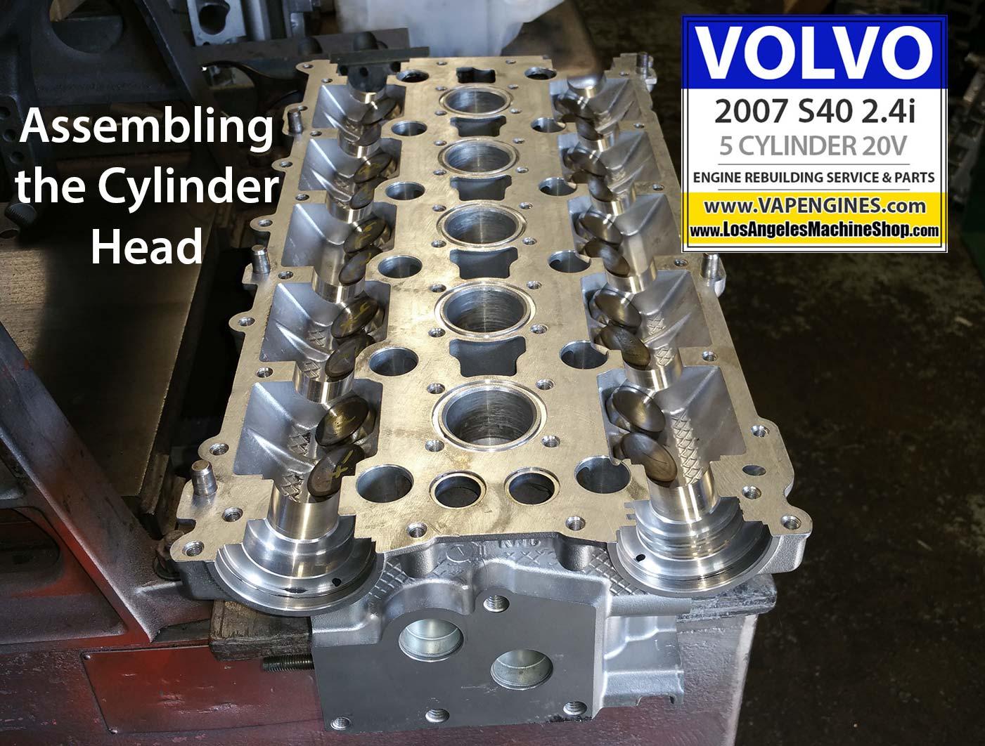 07 Volvo S40 2.4i Engine Rebuild | Los Angeles Machine Shop- Engine Rebuilder|Auto Parts Store
