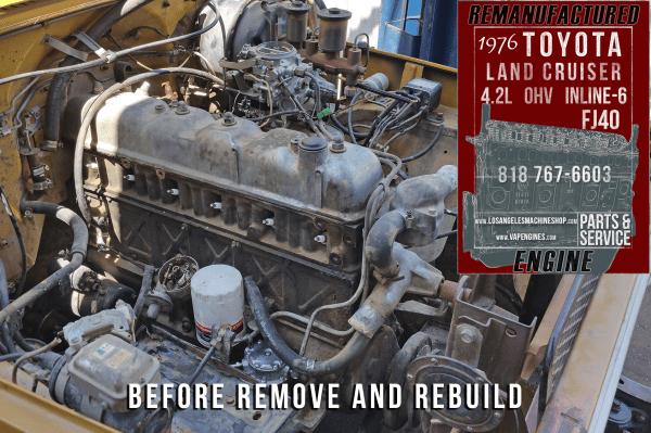 Toyota FJ40 4.2 inline 6 engine