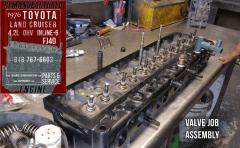 76 toyota 42 valve job repair