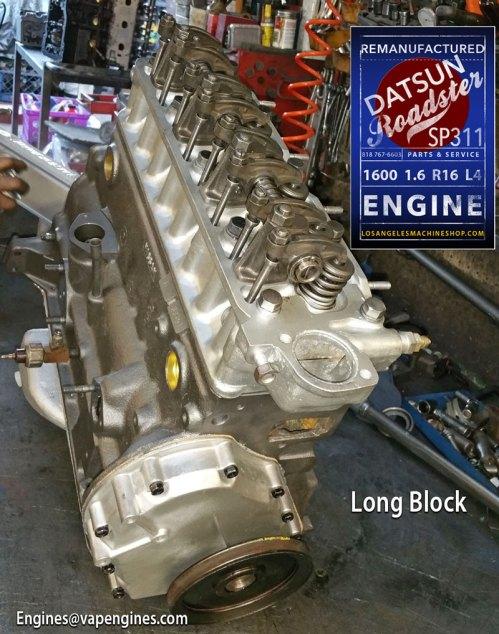 Rebuilt Datsun Roadster SP311 R16 Engine