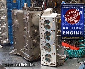 Datsun Roadster 1600 Long Block Rebuild