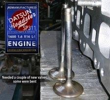 datsun 1.6 bent valve