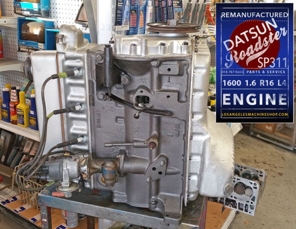 Reman Datsun 1600 1.6 engine