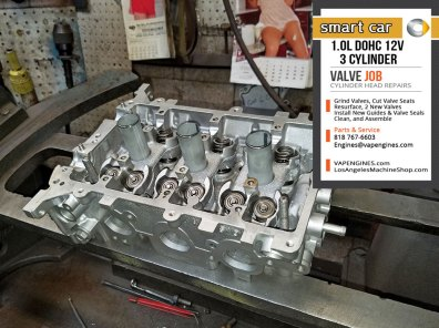 Valve Job Smart car 1.0 3 cylinder
