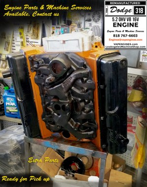 dodge 318 engine repair shop