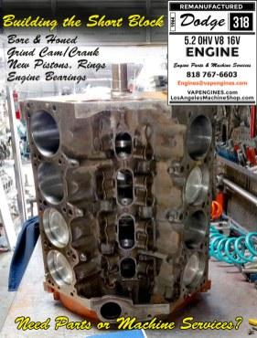 Dodge 318 Short block rebuild