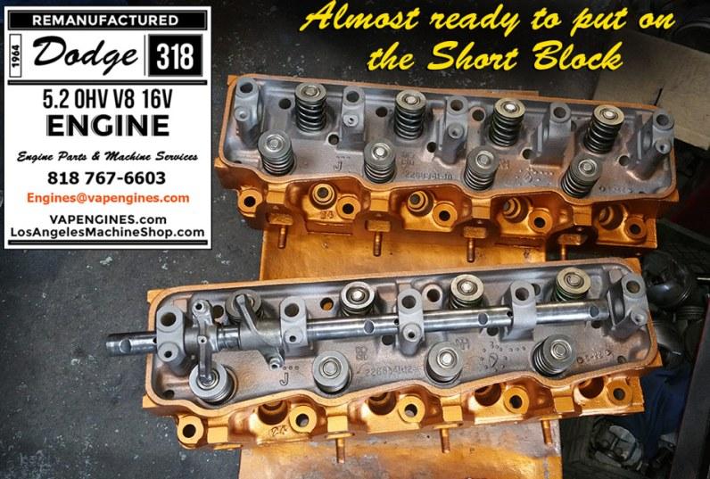 dodge 318 cylinder head repair