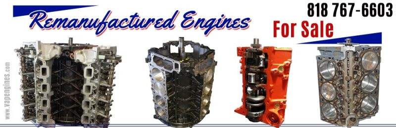Remanufactured car engines for sale
