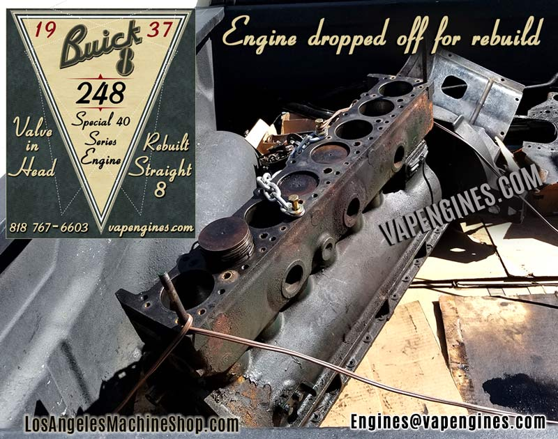 Buick 248 before engine rebuild