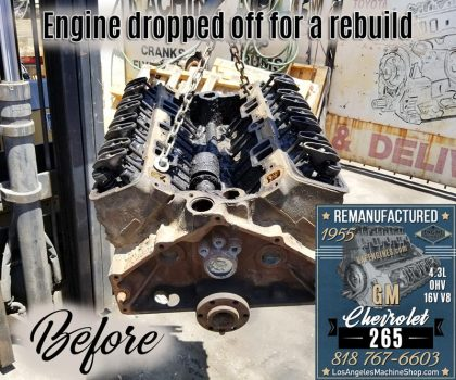 Chevy 265 before Engine Rebuild