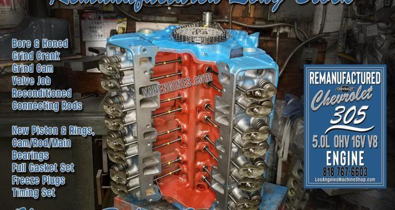 GM Chevy 305 Engine Rebuild