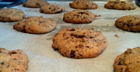 Cookies recién horneadas