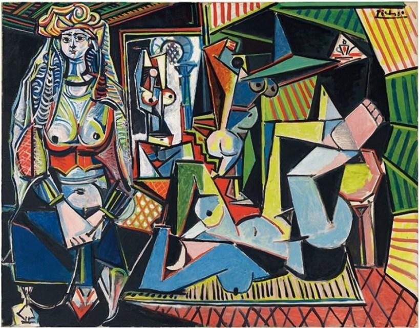 """Pablo Picasso; """"Les femmes d'Alger"""", 1955"""