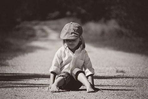 bambino strada