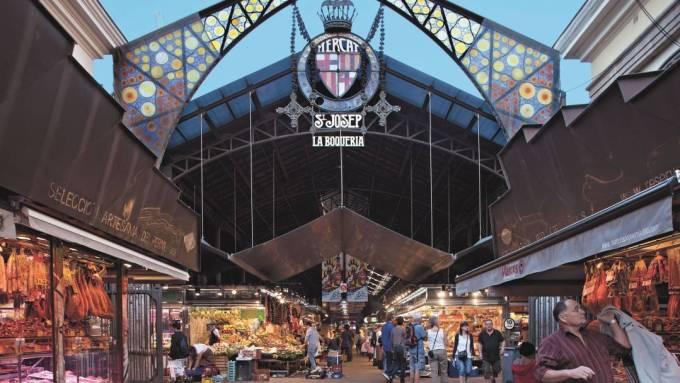 L'entrata del mercato de la Boqueria - immagine 2