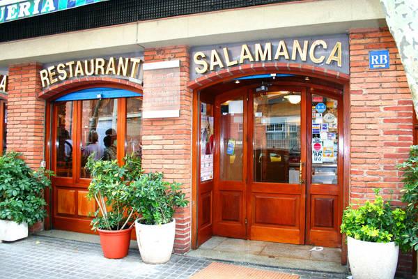 Entrata del ristorante Salamanca - immagine 1
