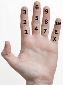 Dozen-hand