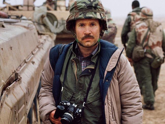 Steve Mccurry in Kuwait, nel 1991