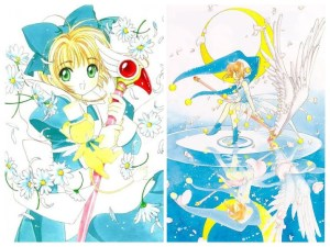 CardCaptor Sakura: Blue Jester and Alice Costumes