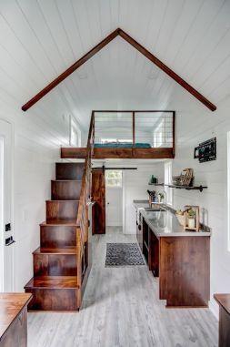 L'interno di una tiny house