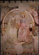 Affresco attribuito a Stefano fiorentino, abbazia di Chiaravalle