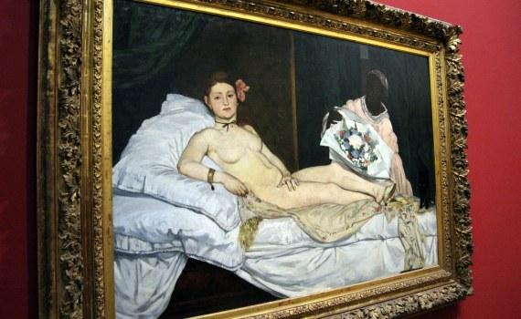 Olympia, Manet, 1863